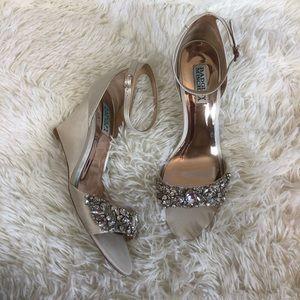 Badgley Mischka Wedge Sandals